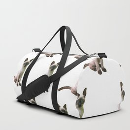 Siamese Kitten Duffle Bag