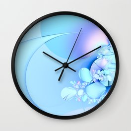 Serenity with Baby Pastels Wall Clock