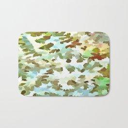 Dusty Miller Abstract Pop Art Bath Mat