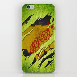 BATMAN/JOKER SYMBOL iPhone Skin