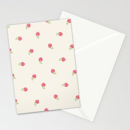 Romantic Dainty Floral Stationery Cards
