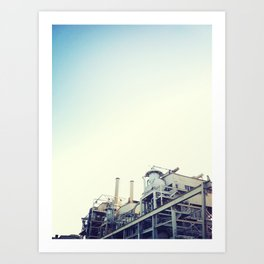 Industrial Plant Art Print