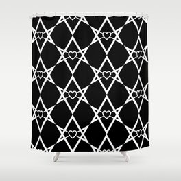 Thelema Heart Shower Curtain