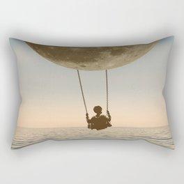 DREAM BIG/MOON CHILD SWING Rectangular Pillow