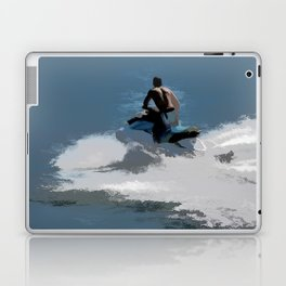 Making Waves - Jet Skier Laptop & iPad Skin