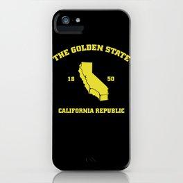 KA Golden state  iPhone Case
