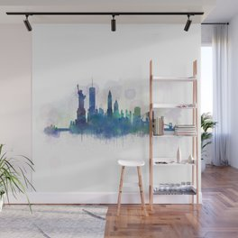 NY New York City Skyline Wall Mural
