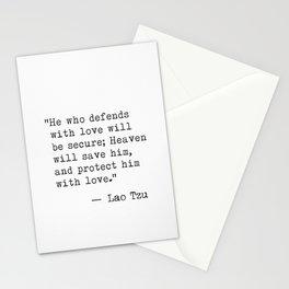 Lao Tzu classic style Stationery Cards