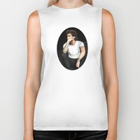zayn Biker Tanks featuring Zayn  by clevernessofyou