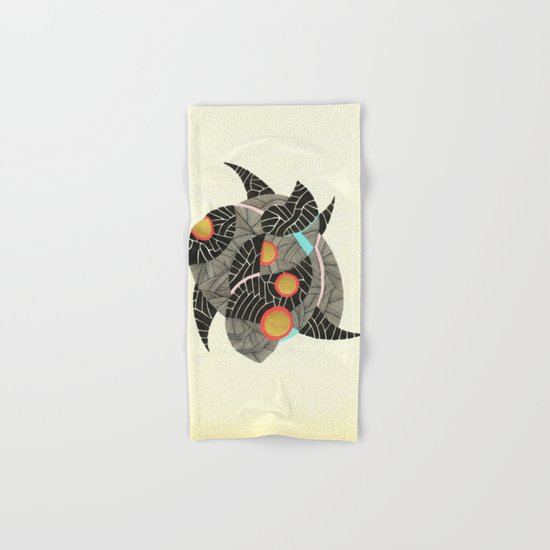 - summer spaceships of love - Hand & Bath Towel