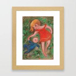 Matisse and Roman Framed Art Print
