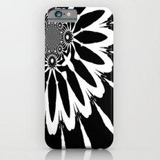 The Modern Flower Black & White Slim Case iPhone 6
