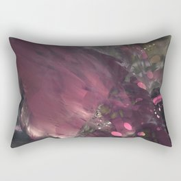 Caught Up In Mauve (3D Digital Fractal Art) Rectangular Pillow