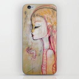 Tornado Lady iPhone Skin
