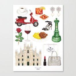 Milan, Italy Canvas Print