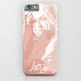 Avril Lavigne Typography iPhone Case