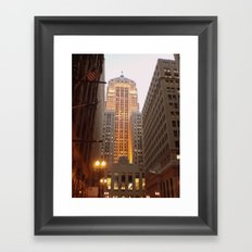 The Chicago Board of Trade Framed Art Print