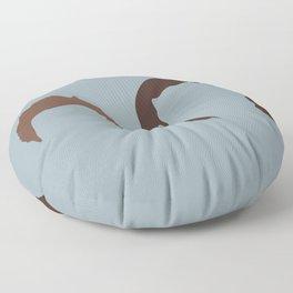 Supernatural Sam and Dean, ya'll Floor Pillow