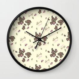 Spooky Sweet Wall Clock
