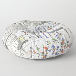 ross common Floor Pillow