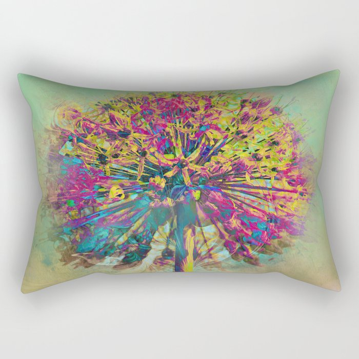 Dandelion Fantasy Rectangular Pillow