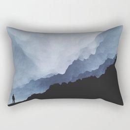 Nothing Easy Rectangular Pillow
