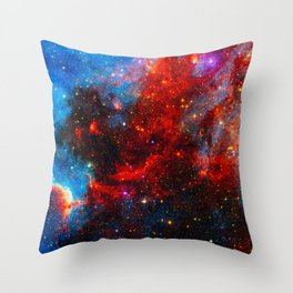Dreamers In An Endless Universe, Galaxy Background, Universe Large Print, Space Wall Art Decor Throw Pillow