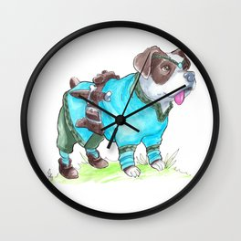 DogDays19 Korra Wall Clock