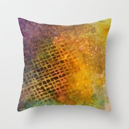 Trying to Cover it Up Throw Pillow