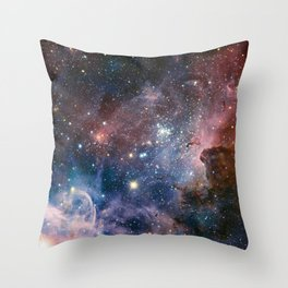 The Carina Nebula Throw Pillow