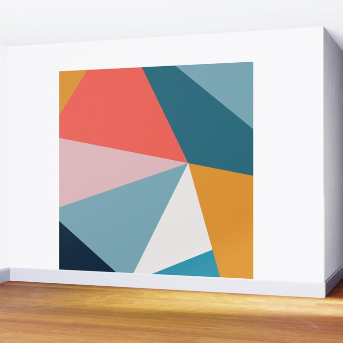 Modern Geometric 34 Wall Mural