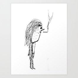Milktoast Art Print