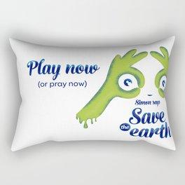 Simon says... Save the earth Rectangular Pillow