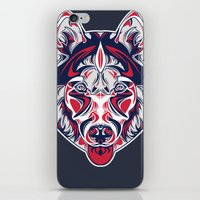 husky iPhone & iPod Skins featuring Husky by Clinton Hamilton