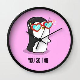 Fabulous Penguin Wall Clock