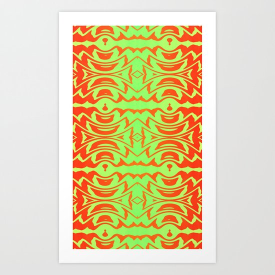 Jungle Rhythm Art Print