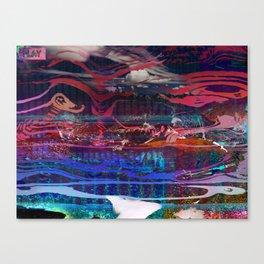 At Chacaltaya Overlook Canvas Print