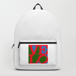 Velo Love – Logo – June 12th – 200th Birthday of the Bicycle Backpack