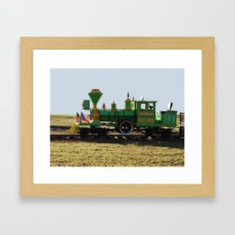 The Little Train Framed Art Print