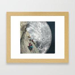 Watch Your Step Framed Art Print