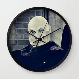 Jackie Coogan, Uncle Fester, Addams Family Wall Clock