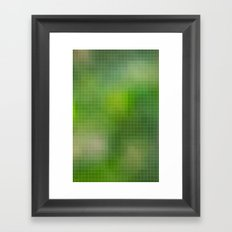 PIXELED Framed Art Print