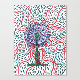 Hot air to cool Canvas Print