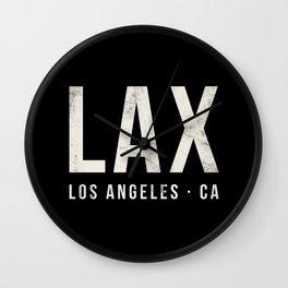 LAX Los Angeles airport Wall Clock