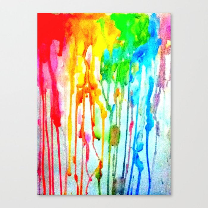 Colors of life : Colors Series 3 Canvas Print