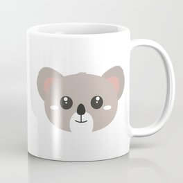 Cute friendly Koala head Coffee Mug