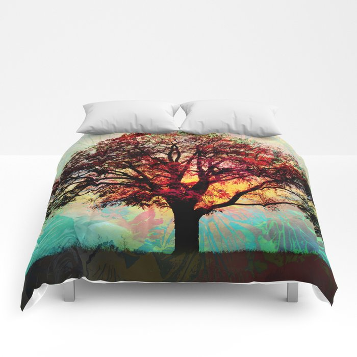 Fall Tree 2 Comforters