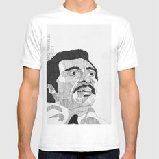 Prince Manuwalde / Blacula White SMALL Mens Fitted Tee