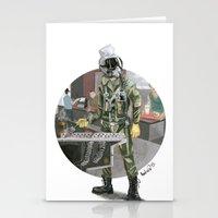 pilot Stationery Cards featuring Pilot by Kalegiro