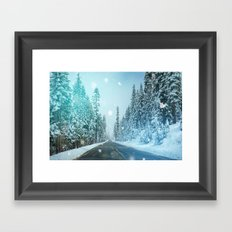 Icing Framed Art Print